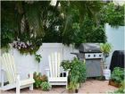 Fenced Patio with Gas Grill