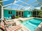 One Block to Beach Home with Pool in Holmes Beach, Florida