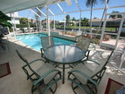 Poolside table set