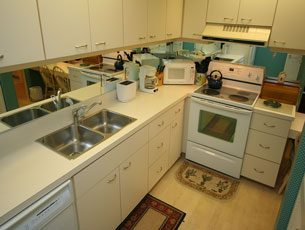 Full-size kitchen