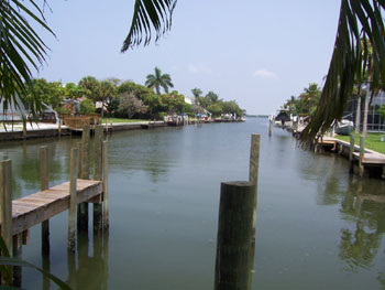 Anna Maria Rental Home with Canal View