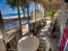 Anna Maria Vacation Rental, Porch Over-looking Beach