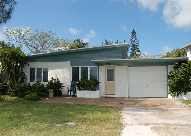 Front View of Anna Maria Rental Home