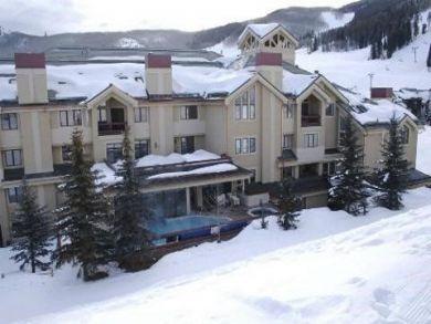Ski in ski out vacation condo in Avon, Colorado