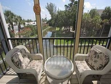 Longboat Key rental with screened balcony
