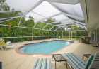 Siesta Key vacation rental home with pool