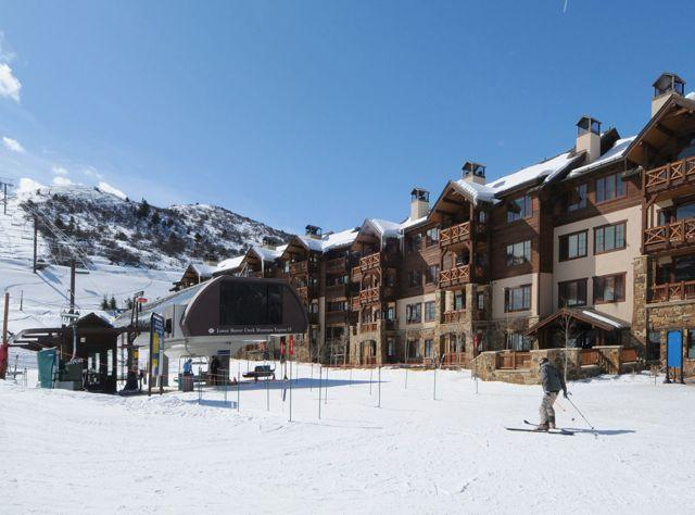 Ski in ski out condo for rent in Beaver Creek, Colorado