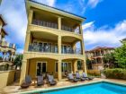 Partial gulf view home with pool in Destin, Florida