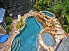 Anna Maria, Florida rental home with tropical pool & hot tub