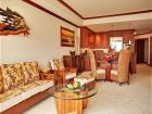 Deluxe living room on Waikoloa rental condo