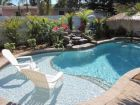 Holmes Beach, Florida rental home with swimming pool