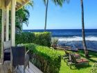 Poipu Beach rental home right on the beach