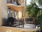 Balcony with outdoor furniture