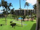 Beautiful condo complex with pool in Kihei, Hawaii