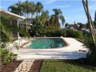 Canal view home with pool in Longboat Key, Florida