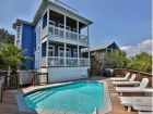 Lake front rental home with pool in Destin, Florida