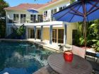 Longboat Key, Florida rental home with caged pool
