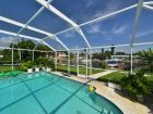 Canal front rental home with pool in St Petersburg, Florida