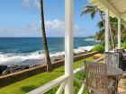Ocean front cottage for rent in Poipu Beach, Kauai, Hawaii