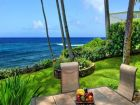 Ocean front vacation rental in Poipu Beach, Kauai, Florida