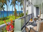 Ocean front rental condo in Poipu Beach, Kauai, Hawaii