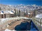 Ski in ski out condo in Snowmass Village, Colorado