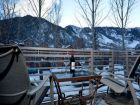 Walk to lift home for rent with mountain view in Aspen, Colorado