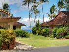 Mountain, garden & partial ocean view townhome in Lahaina, Hawaii