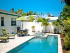 Close to beach duplex with pool & hot tub in Anna Maria, Florida