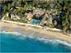 Beachfront, secluded private home for rent in St. Maarten