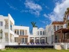 Anguilla, Caribbean luxury villa on beach