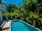 Vacation rental home with private pool in Holmes Beach, Florida