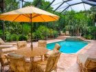 Poolside Lounging & Dining Area