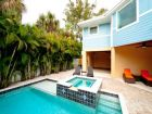 Short Walk to Beach Home with Pool in Holmes Beach, Florida