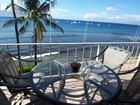 Ocean front condo in Lahaina town