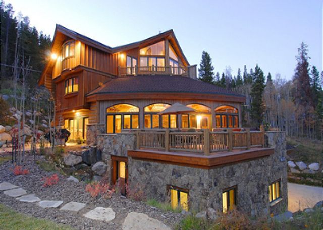 Breckenridge ski vacation rental homes and condos ski in ski out - Alpine vacation houses ...