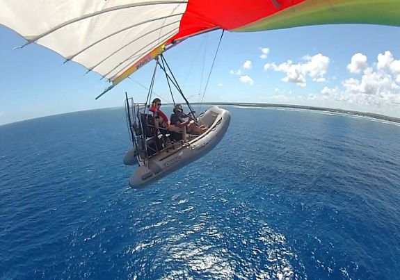 Hang gliding dominican republic