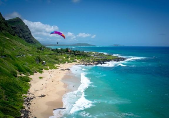Sandy Beach at Oahu