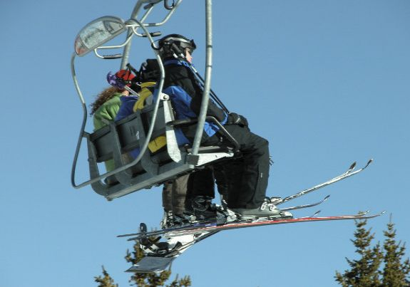 Aspen ski chair lift