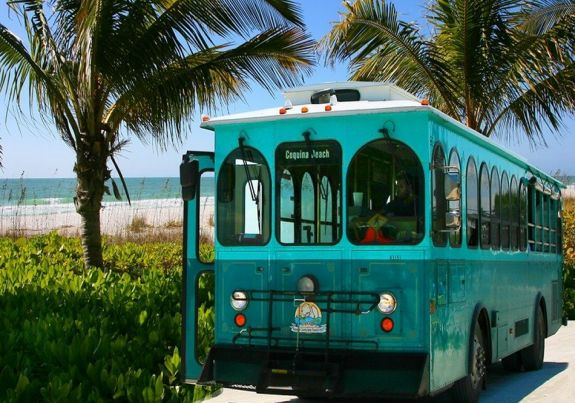 Free Anna Maria Trolley Bus