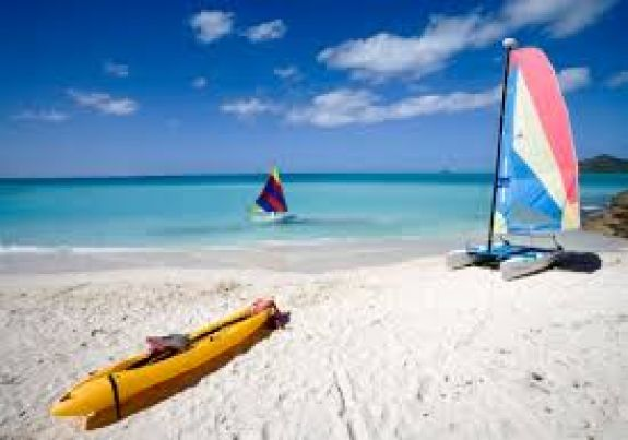 Anna Maria Island Kayak and Windsurfing on Beach