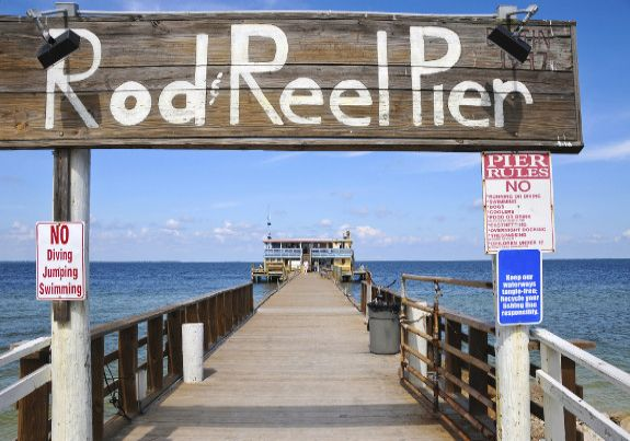 Rod Reel Pier on Anna Maria Island