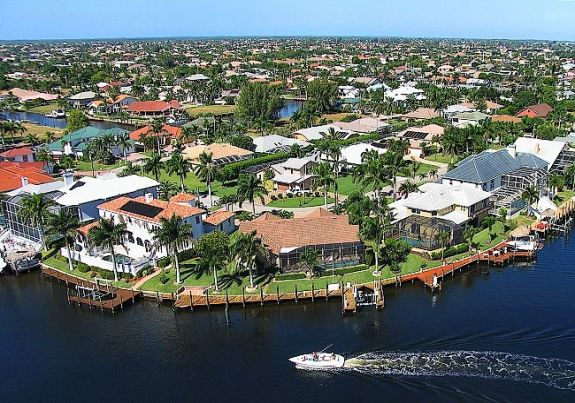 Aerial Photo of Cape Coral