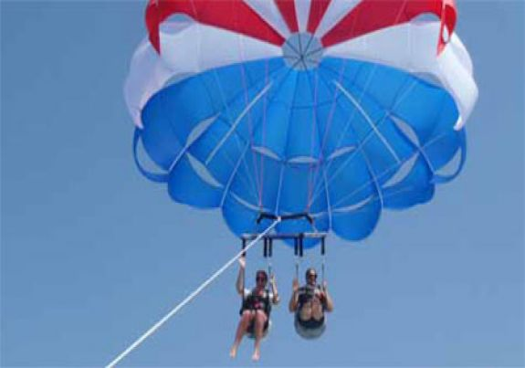 Parasailing in Marco Island