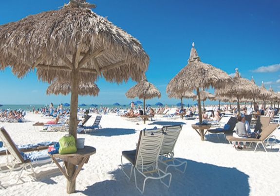 Marco Island White Sandy Beach Chairs