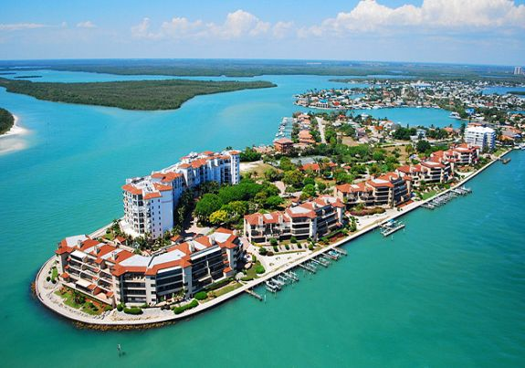 Marco Island Surrounded By Emerald Waters