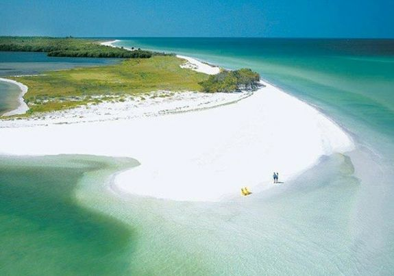 Siesta Key white powder beach