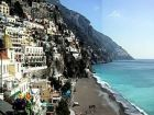 Beach View Rental Villa in Positano, Italy