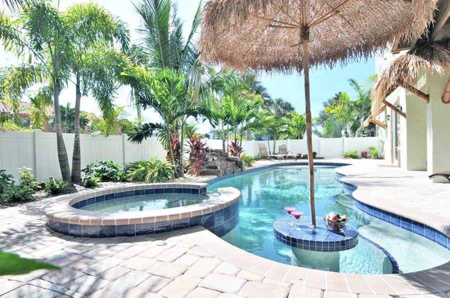Seven Bedroom Vacation Rental Sleeps 14 Private Pool