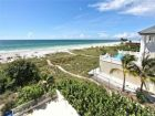 Beach front home for rent in Longboat Key, Florida